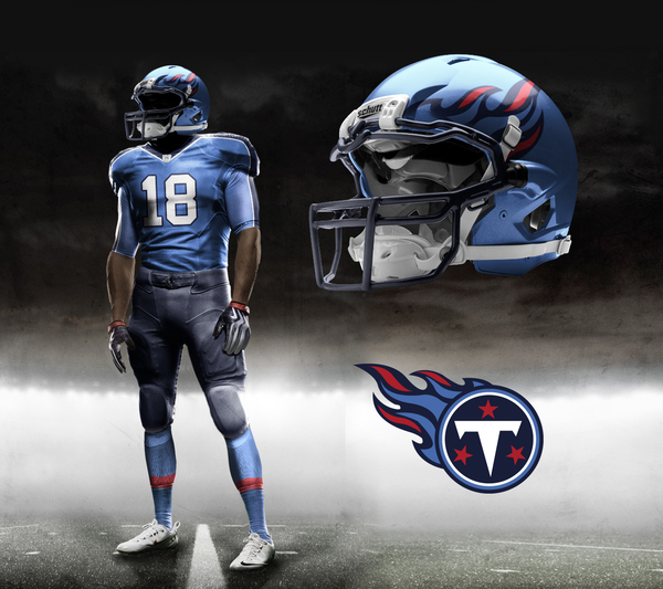 ae1da6a3c Tennessee Titans New Look Coming Soon | Nashville Sports News
