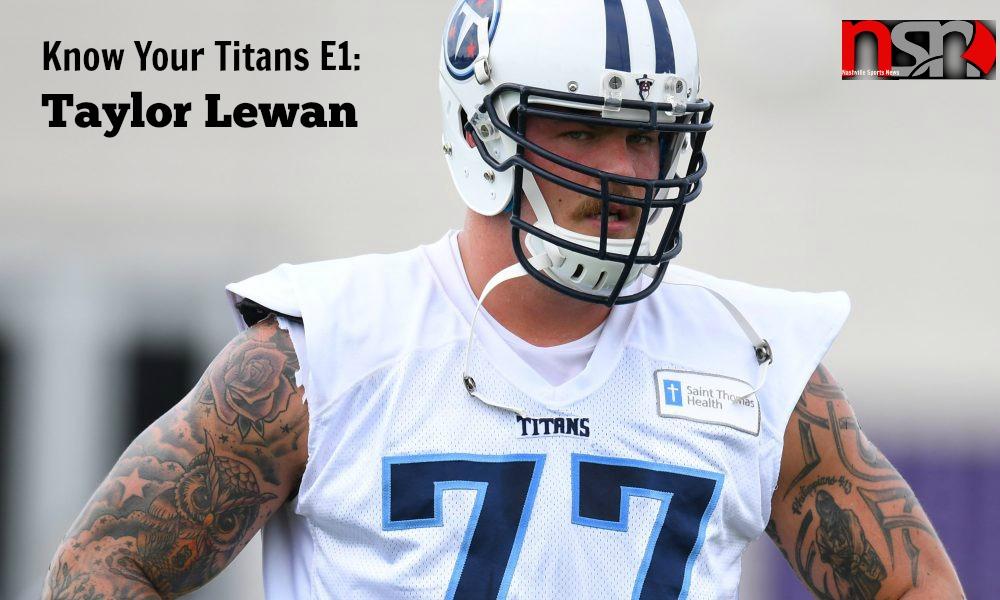 Know Your Titans E1_ Taylor Lewan Cover