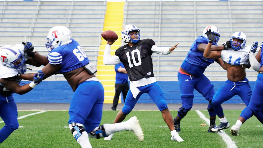 Nashville Sports News TSU Tigers First Football Scrimmage 2017 1