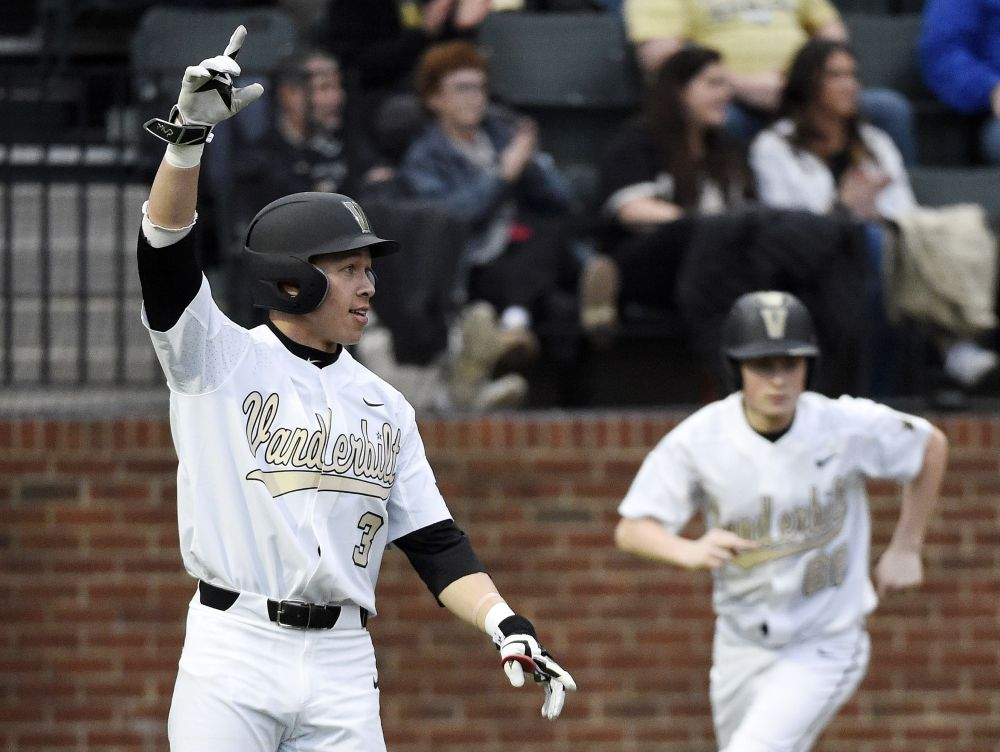 Nashville Sports News Vanderbilt Baseball Blanks Lipscomb 10-0
