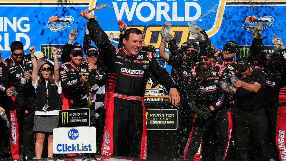 Ryan Newman Wins Camping world 500 Cover