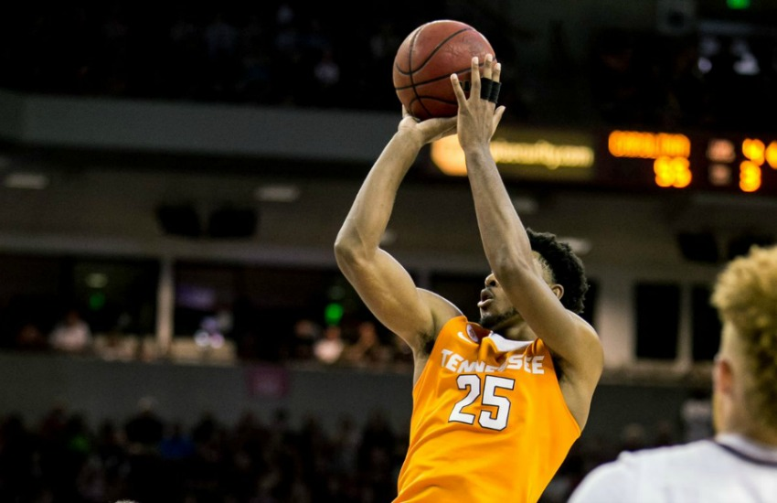 Vols fall to Tigers 82-92 shot 850