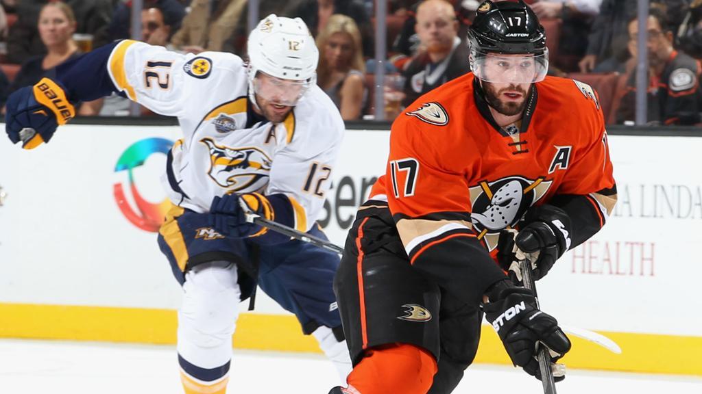 Predators vs Ducks