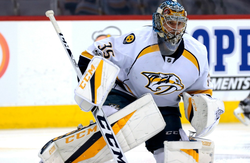 3Nashville Sports News Pekka Rinne Shuts Out Blackhawks in Preds Win 1