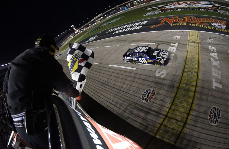 Nashville SPorts News Jimmie Johnson Wins Texas Motor Speedway 4