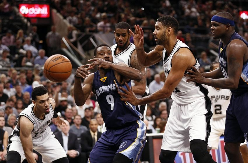 Nashville Sports News Grizzlies Drop Play Off Opener to Spurs 82-111 2