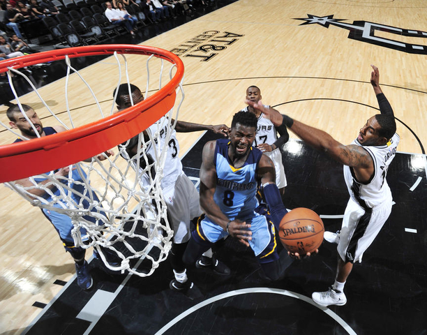 Nashville Sports NewsGrizzlies Lose to Spurs in OT 89-95 1