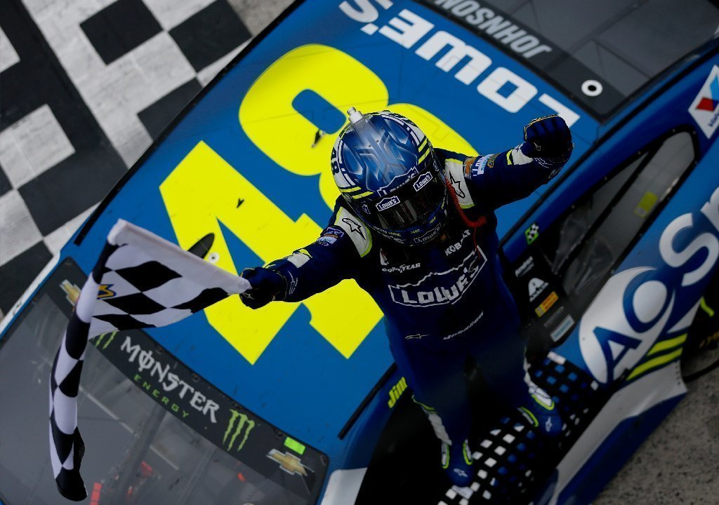 Nashville Sports News Jimmie Johnson Wins Food City 500 Bristol 1
