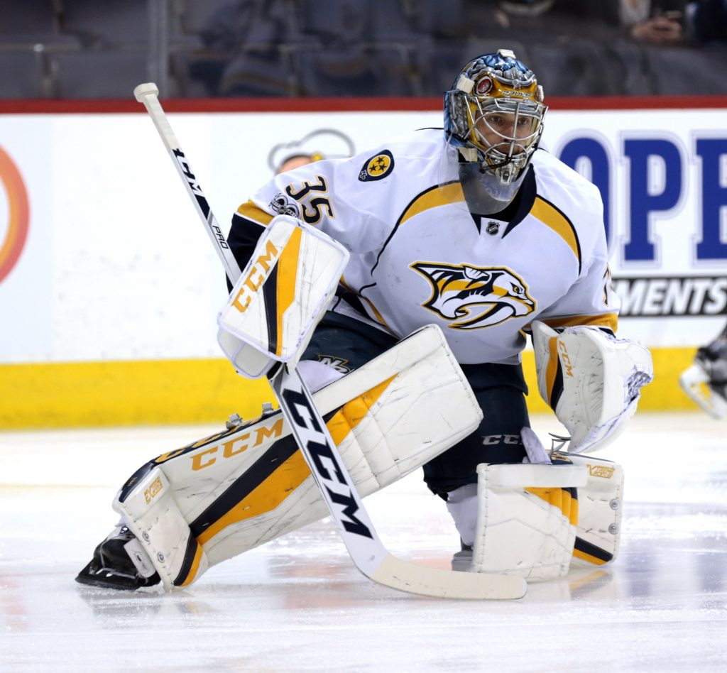 Nashville Sports NewsPekka Rinne Shuts Out Blackhawks in Preds Win 1