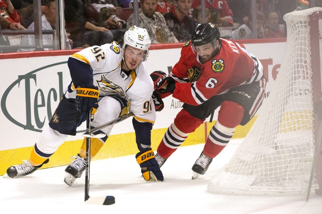 Nashville Sports News Pekka Rinne Shuts Out Blackhawks in Preds Win 3