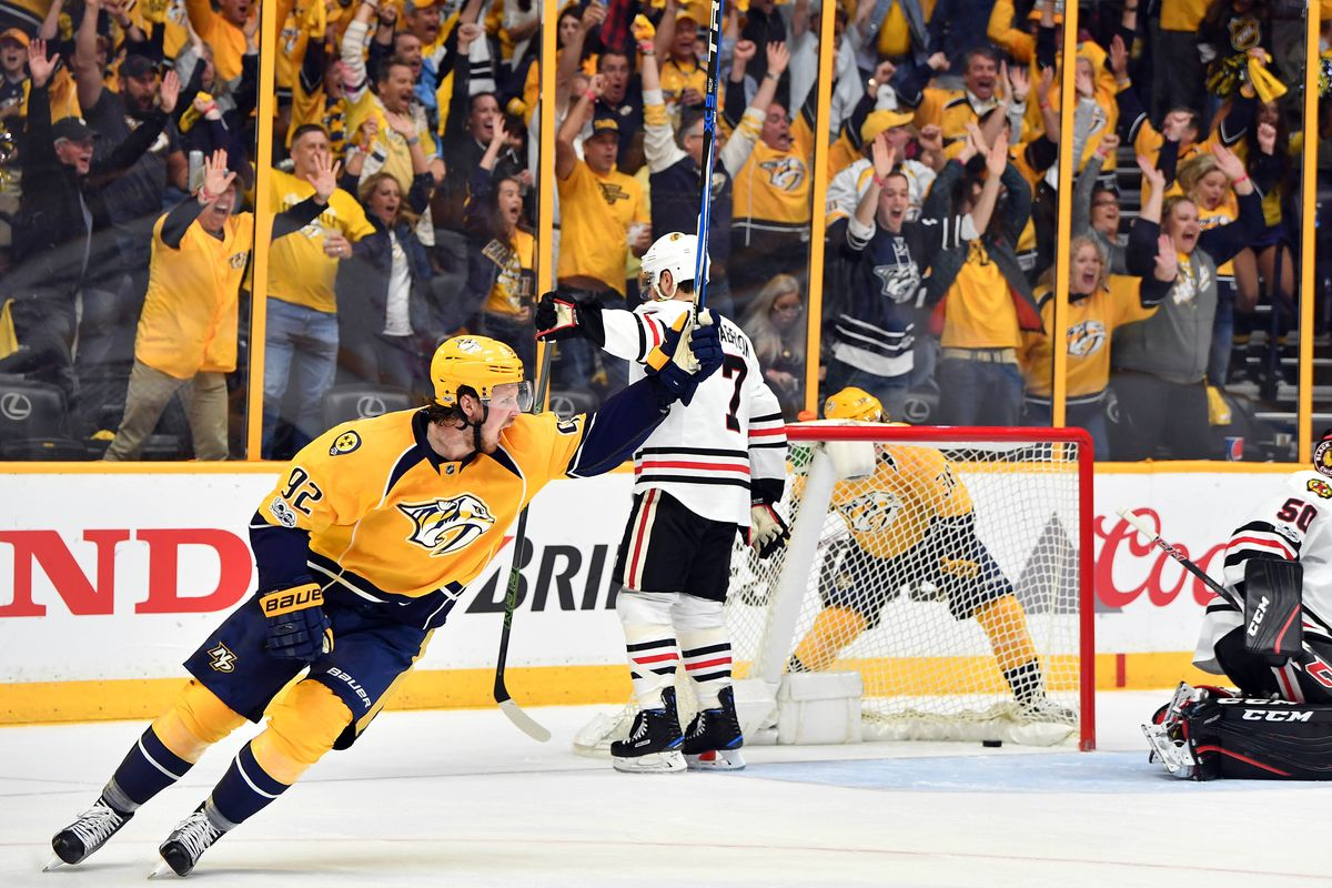 Nashville Sports News Predators Sweep Blackhawks and Move On 1
