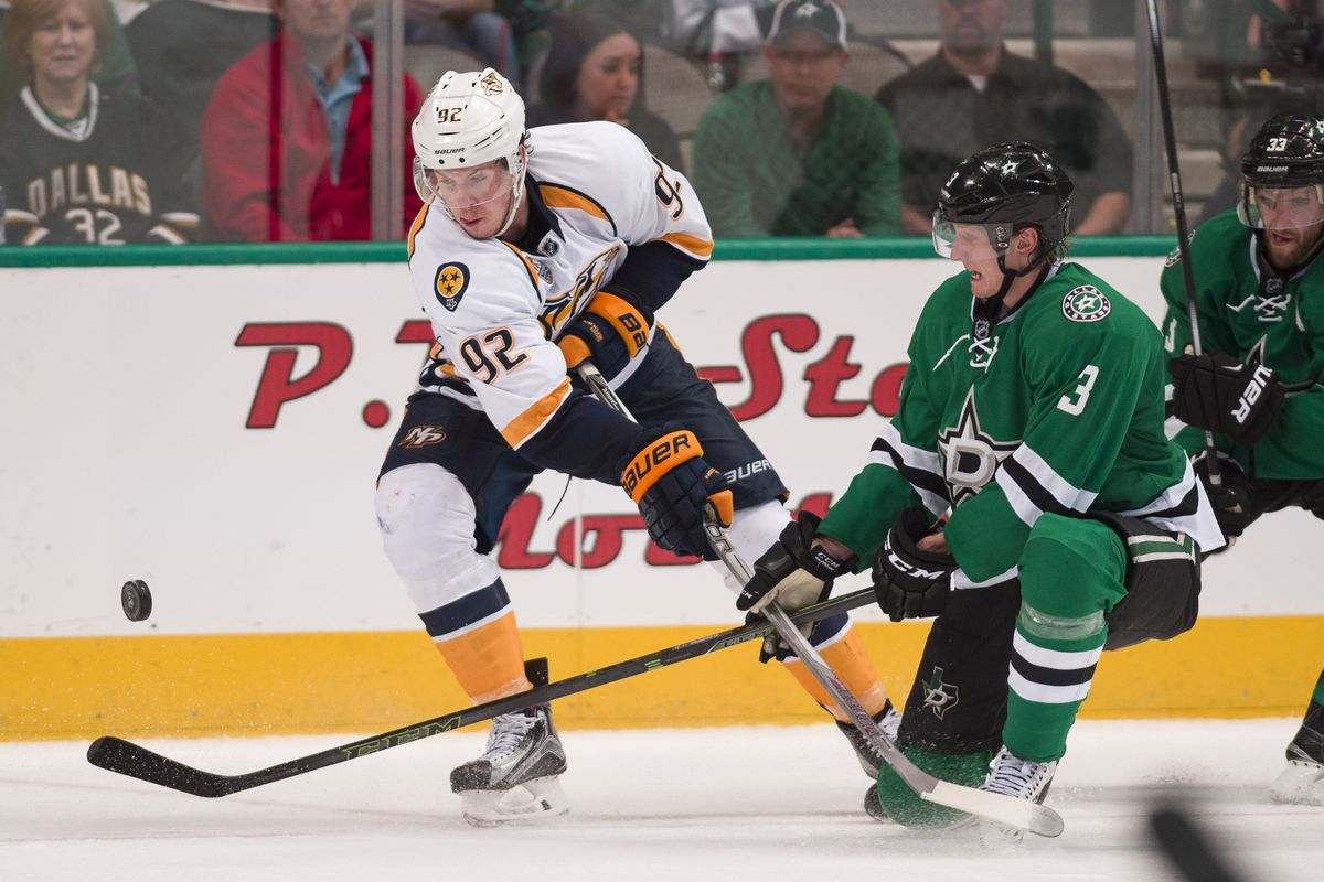 Nashville Sports News Preds Defeat Stars 7-3 1