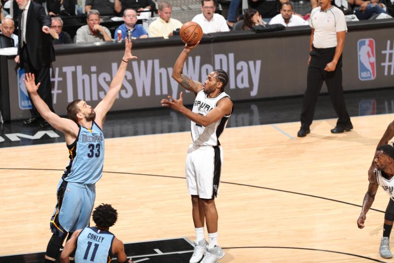 Nashville Sports News Spurs Defeat Grizzlies in Game 2 96-82 1