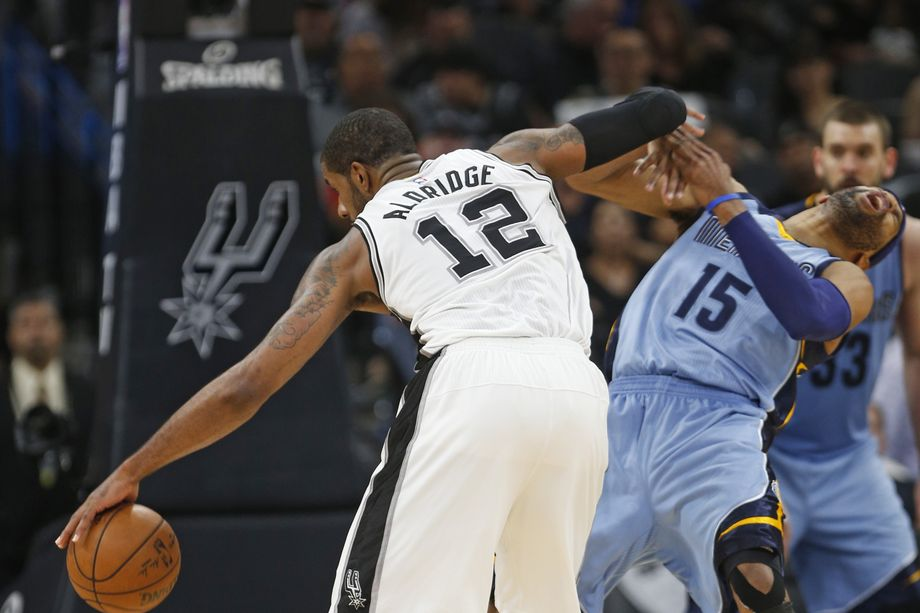 Nashville Sports News Spurs Defeat Grizzlies in Game 2 96-82 2