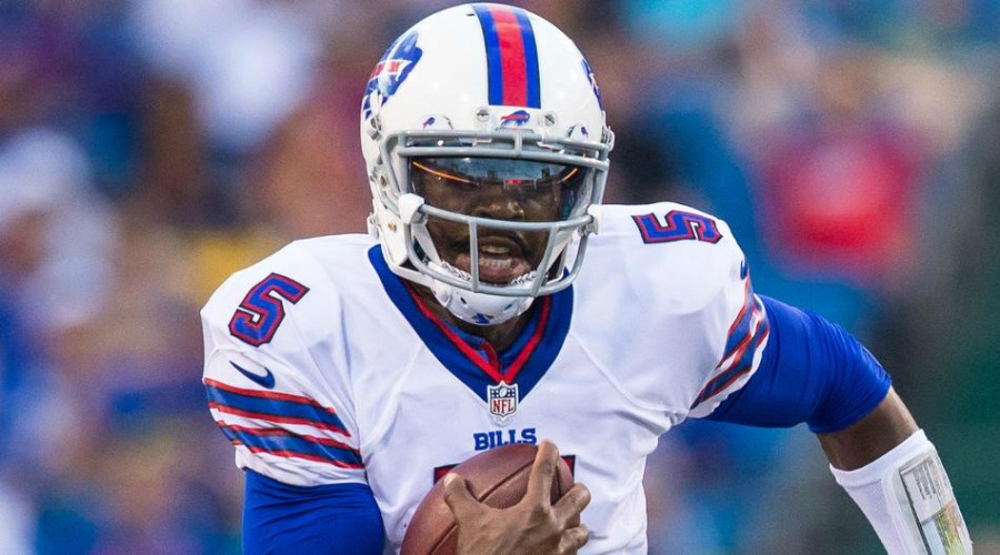 25. Tyrod Taylor 2017 QB Rankings Cover900