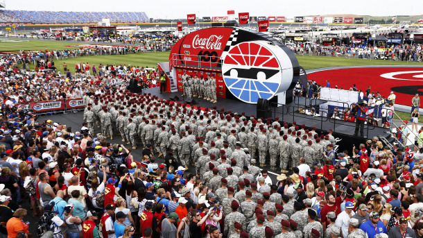 Coca-Cola 600 Will Be Run In Four Stages