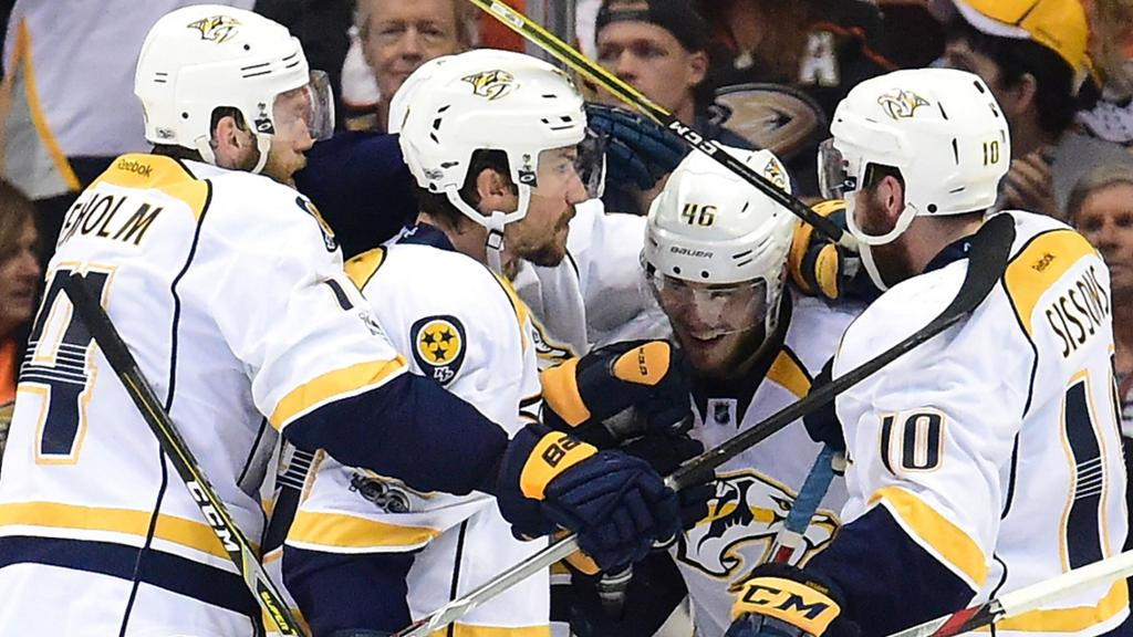 Depth Sets The Nashville Predators Apart Cover