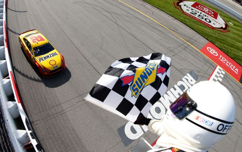 Joey Logano Wins At Richmond 1