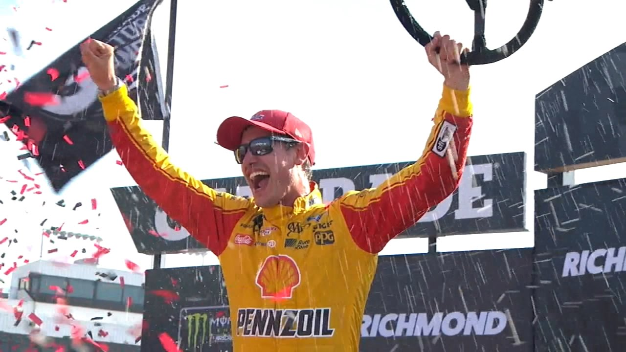 Joey Logano Wins At Richmond 2