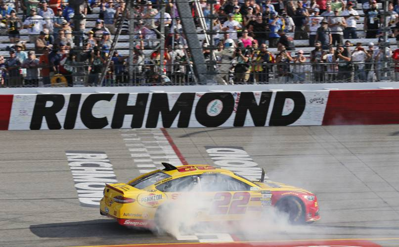 Joey Logano Wins At Richmond 3