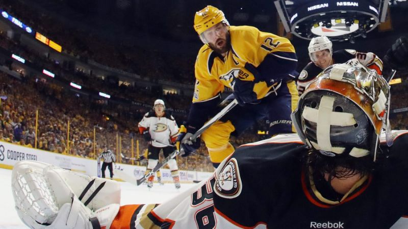Predators Mike Fisher Injury In Game 4 Cover
