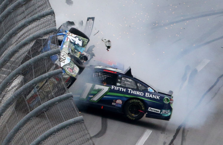 Ricky Stenhouse Wins First Race At Talladega 500 3