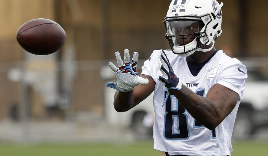 Titans Wide Receiver Corey Davis Says He Could Play Today Cover