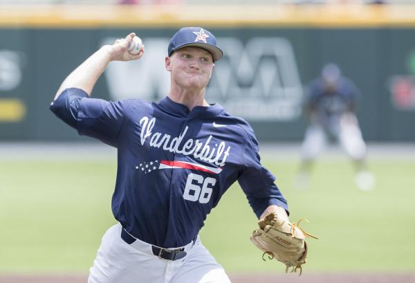 Vanderbilt Ties Alabama In Finale 3-3 Pitcher