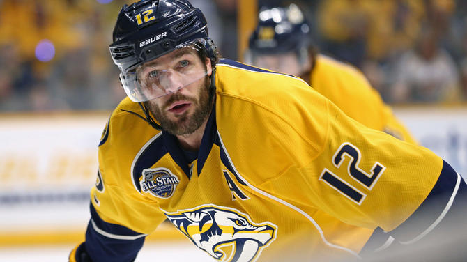 Why Predators Not Releasing Info On Mike Fisher Cover