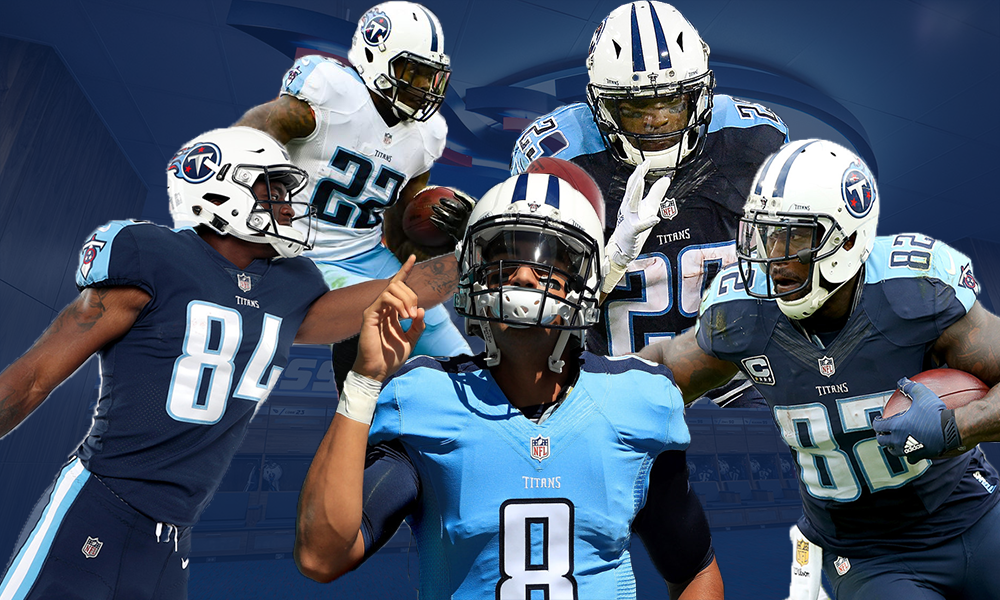How will Titans Use all their talent Mariota