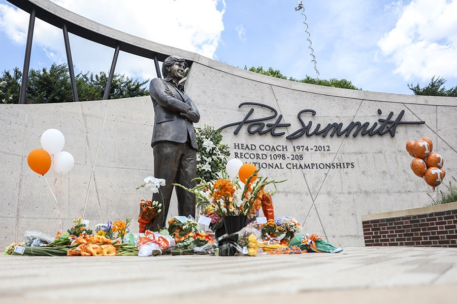 Lady Vols Pat Summit Remembered memorial
