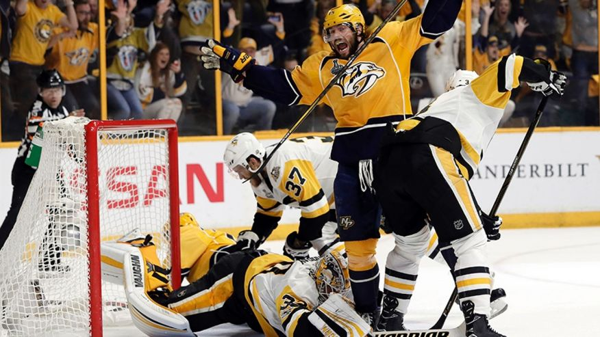 Nashville Predators Even Up the Series 2-2 Cover