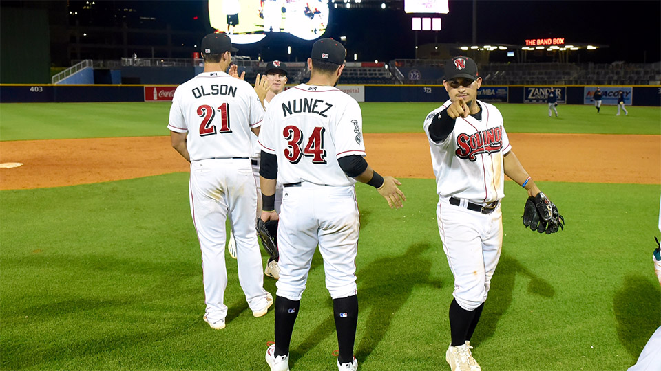 Nashville Sounds Defeat Sky Sox 3-1 Cover