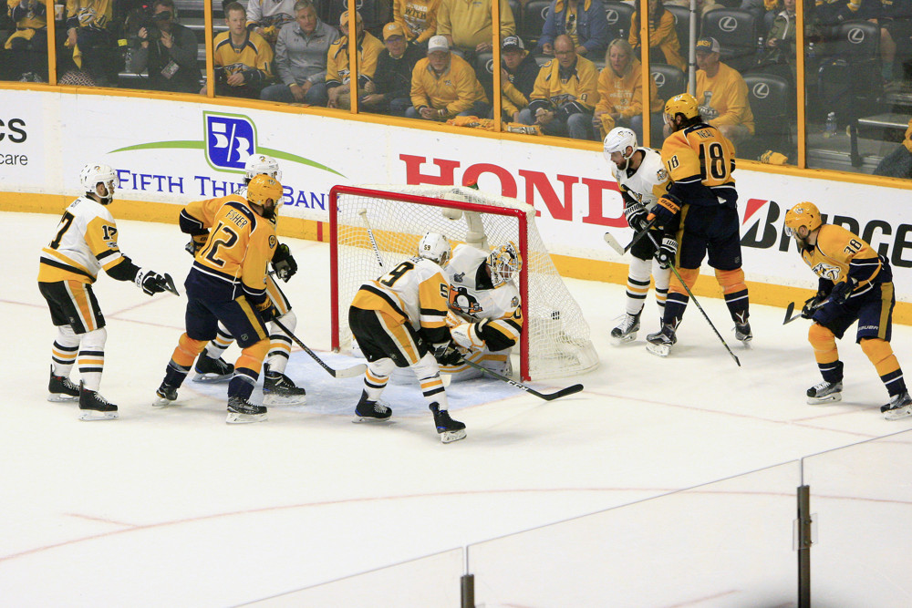 Predators Defeat Penguins in Game 3 BIG! goal