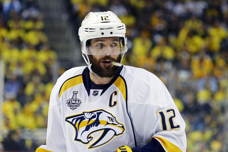 Predators Without 2018 Contracts-Free Agents Fisher Cover