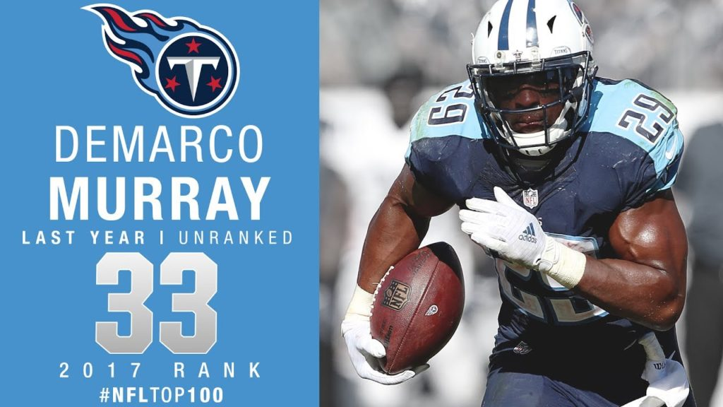 Titans Lead 2017 Top 100 Players With 6 Murray