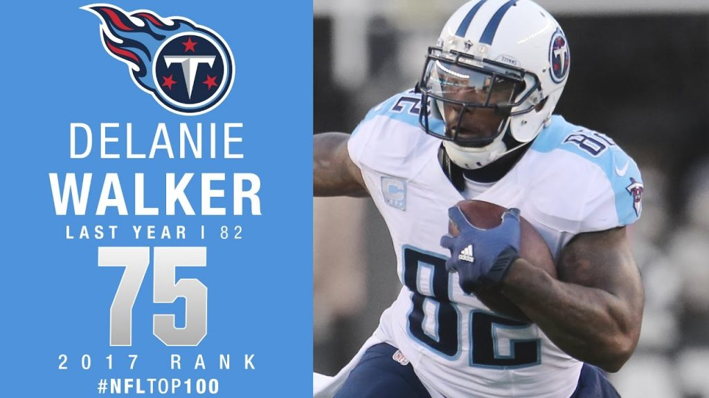 Titans Lead 2017 Top 100 Players With 6 Walker