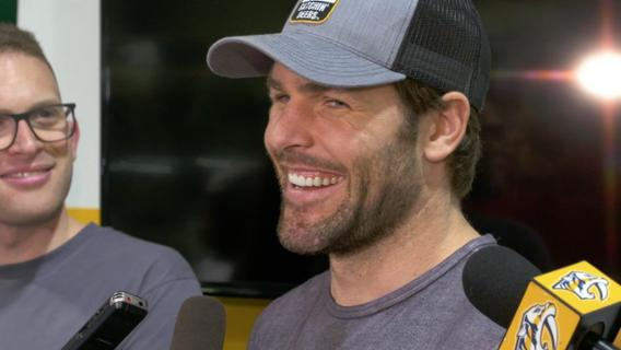 Predators Await Mike Fisher's Decision Interview
