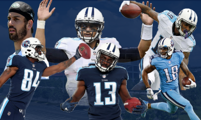 Titans Receiver Core Most Improved In NFL Cover