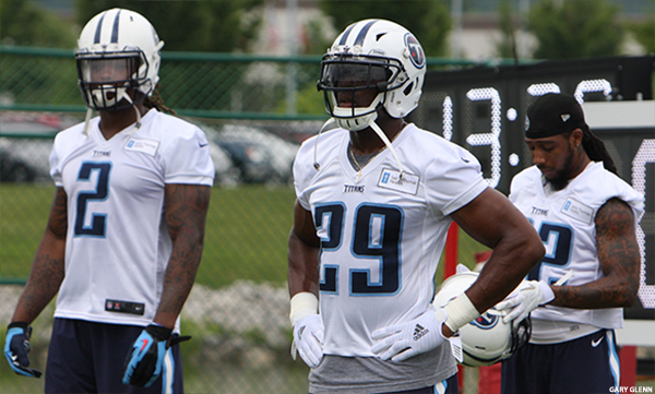 Titans Training Camp Begins Saturday Backs
