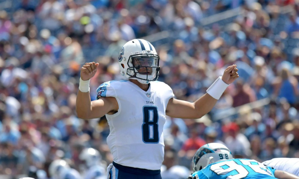 Bears Defeat Titans In Third Preseason Game Mariota-2