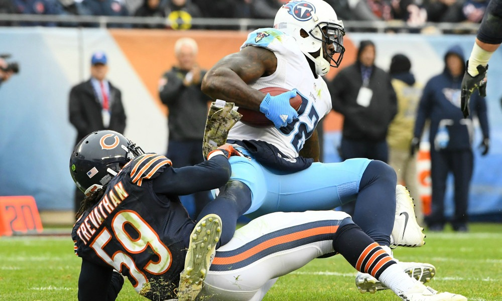 Bears Defeat Titans In Third Preseason Game Walker-2