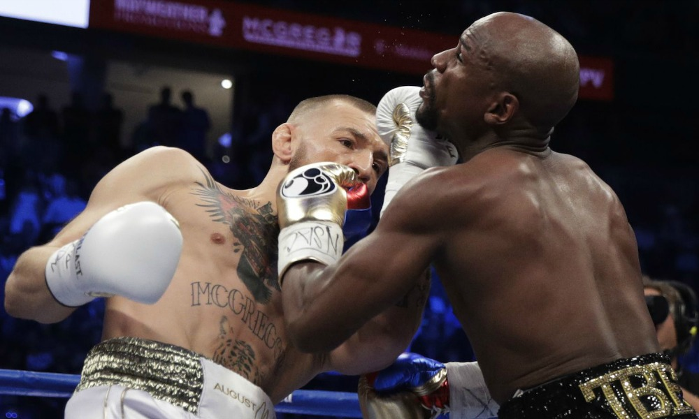 Mayweather TKO's McGregor In 10th Round Upper-2