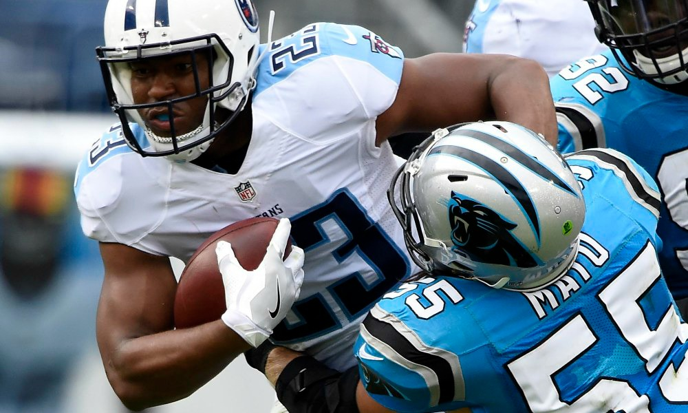 Titans Show Promise In Preseason Win Against Panthers run-2