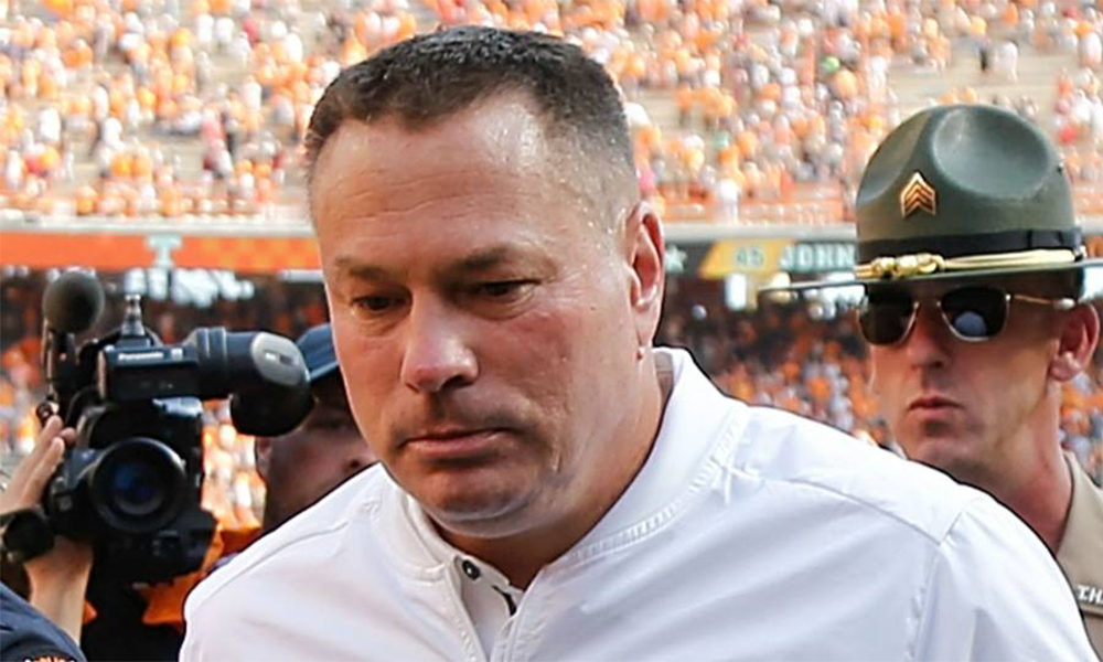 Butch Jones Seal His Fate With South Carolina Loss Post