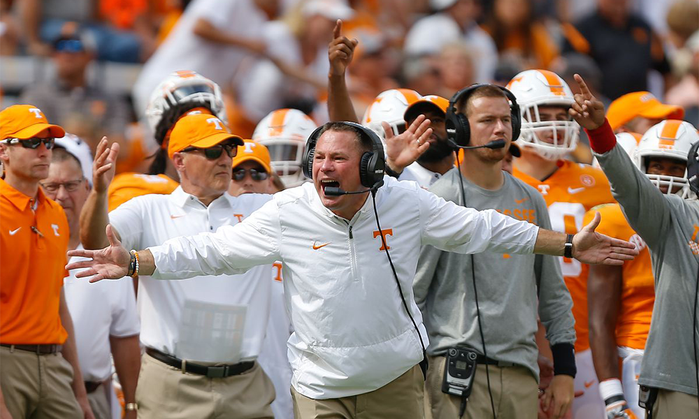 Butch Jones Seal His Fate With South Carolina Loss why