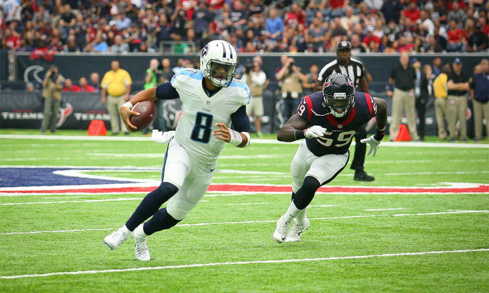 Mariota Listed As Day To Day Run