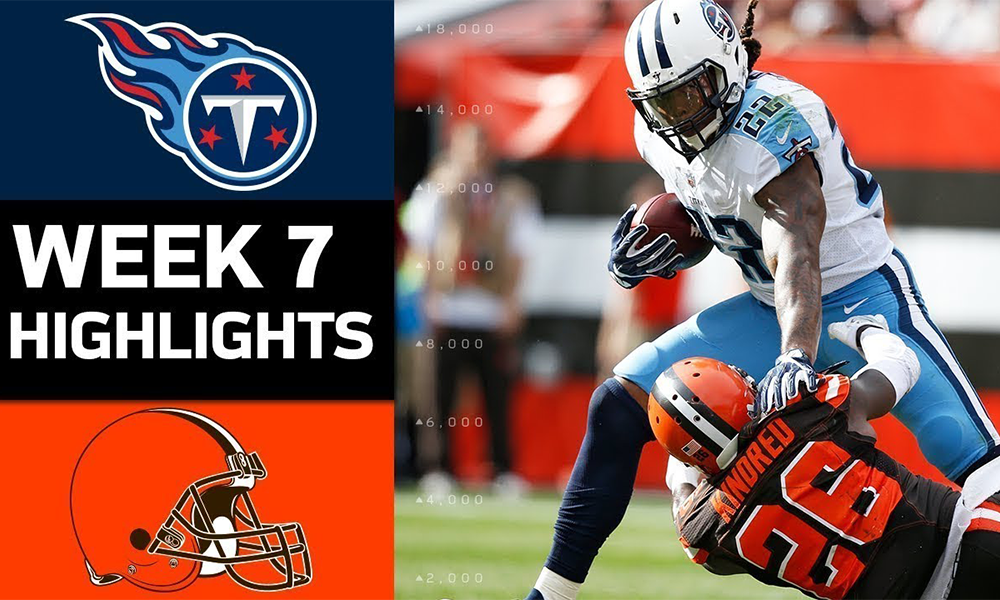Titans Defeat Browns In Field Goal Battle Henry