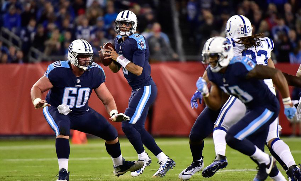 Titans Defeat Colts 36-22 Mariota