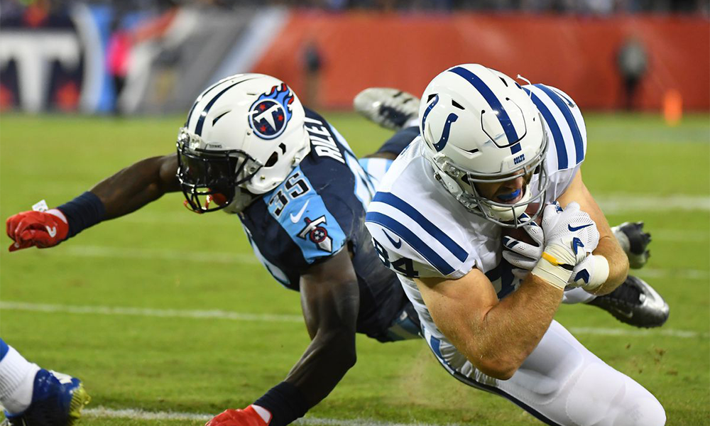 Titans Defeat Colts 36-22 int